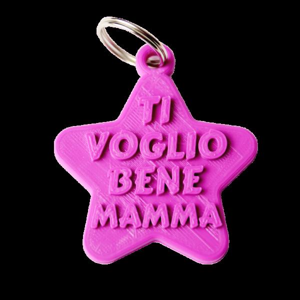 portachiavi ti voglio bene mamma